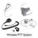 Wireless PTT for Motorcycling and Airsports