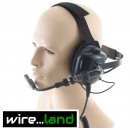 Behind-the-Head Comms Ear-Defenders for any radio.