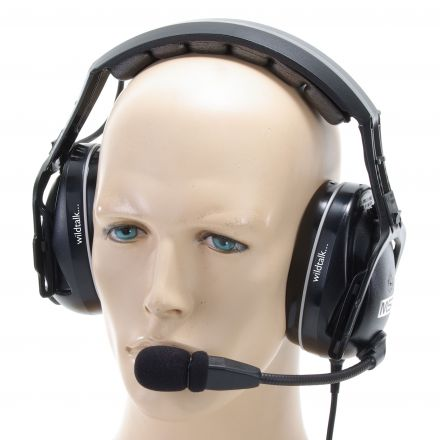 MSA Sordin CC Radio Ear-Defenders. Passive Cable Connected