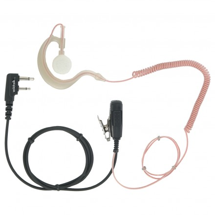 Hook or G earpiece for Icom