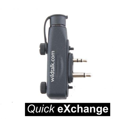 ADAPTOR-QX-ISW | Quick Exchange Icom Adaptor