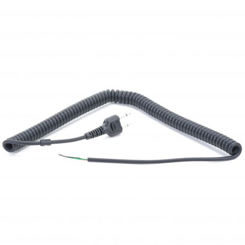 CURLY-S | Standard / Icom Straight Plug Curly Cable