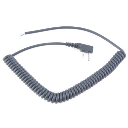 CURLY-I-AIR | Icom Airband Curly Cable