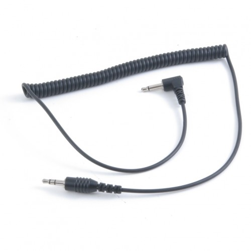 CURLY-STEREO-M | Motorola to Stereo Cable